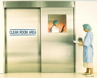 horton automatics clean room doors