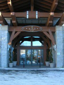 Sliding door in Lodge Ontario