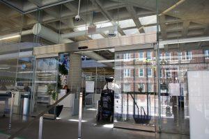 Hamilton Library Sliding door