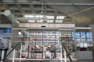 Hamilton Library Entrance Sliding door
