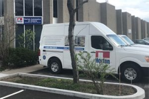 Horton Automatics truck and office