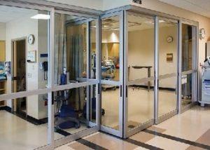 Horton automatics applications hospital doors