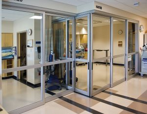 ICU Door Installation