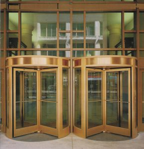 Double Revolving Door