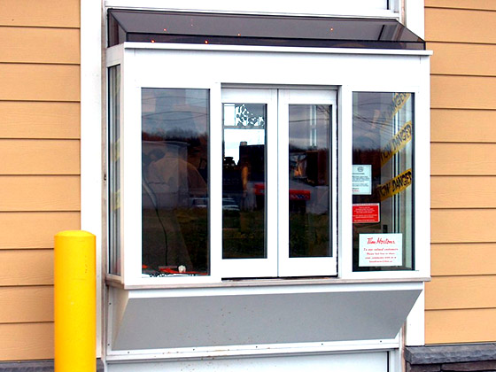drive-thru windows from Horton Automatics of Ontario