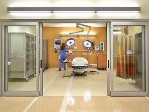 Hands-free door openers from Horton Automatics of Ontario