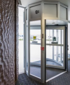 Revolving Entry door