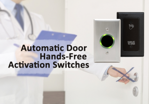 Automatic Door Hands-Free Activation Switches